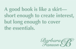 Good Book is like a skirt